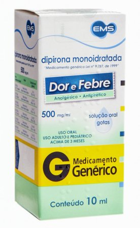 Dipirona Monoidratada 500mg/ml