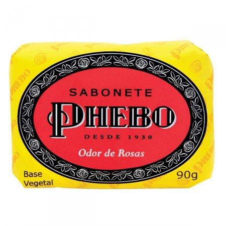 Sabonete em Barra Phebo Odor de Rosas