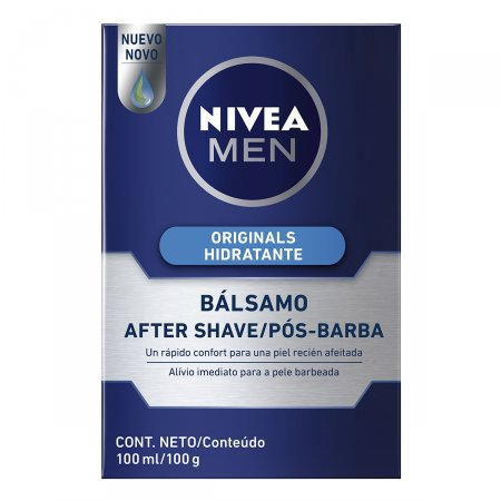 Bálsamo Pós Barba Nivea Men Original Protect