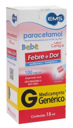 Paracetamol Bebê 100mg/ml