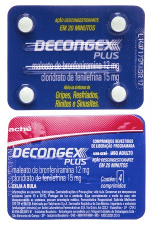 Decongex Plus 4 Comprimidos