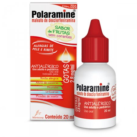 Polaramine Gotas Com 20ml