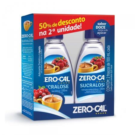 Kit Adoçante Líquido Zero-Cal Sucralose