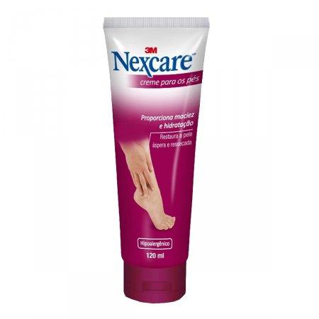 Nexcare Creme Hidratante para os Pés com 120ml