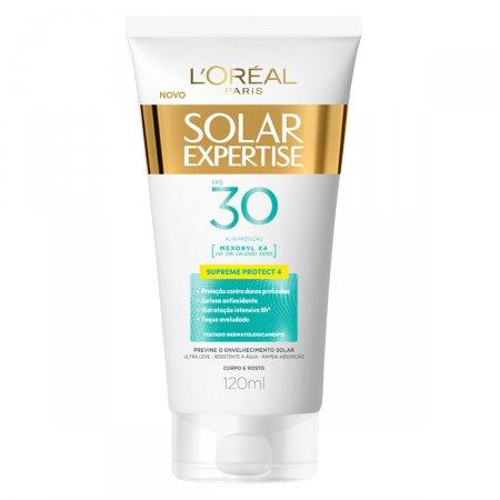 Protetor Solar L'Oréal Expertise Supreme Protect 4 FPS 30 com 120ml
