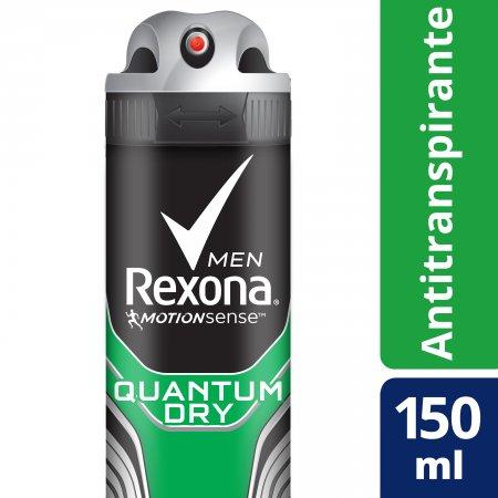 Desodorante Aerosol Rexona Men Quantum Dry