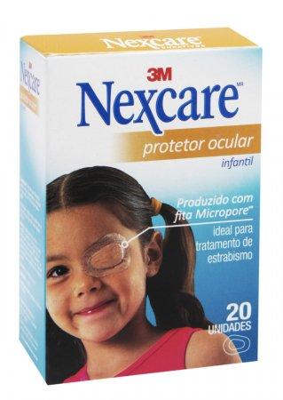 Protetor Ocular Nexcare Opticlude Infantil c/ 20