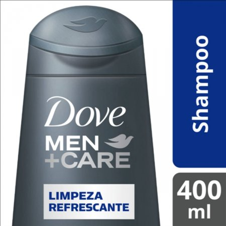 Shampoo Dove Limpeza Refrescante para Homens 400ml