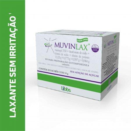 Muvinlax 20 Saches 14g cada | Drogaraia,com Foto 1