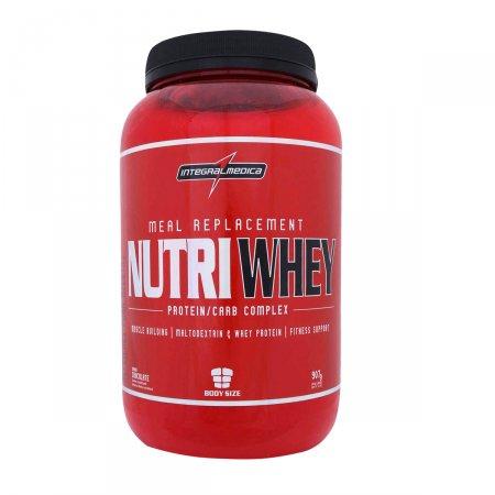 Nutri Whey Protein Integralmédica Chocolate 907g