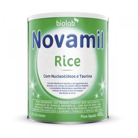 Fórmula Infantil Novamil Rice