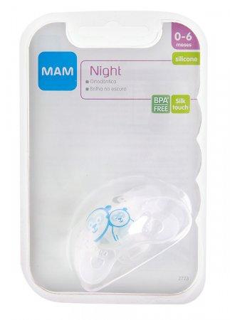 Chupeta Mini Ulti Night Azul