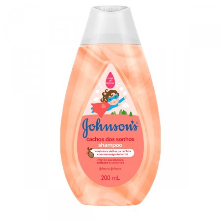 Shampoo Johnson's Cachos dos Sonhos 200ml