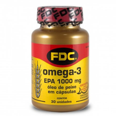 Omega 3 Epa 1000mg Com 30 Cápsulas - FDC