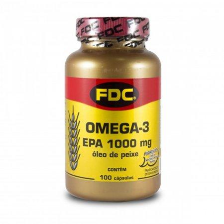Omega 3 Epa 1000mg com 100 Capsulas - FDC