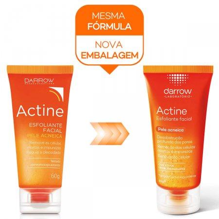 Esfoliante Facial Actine para Pele Acneica com 60g