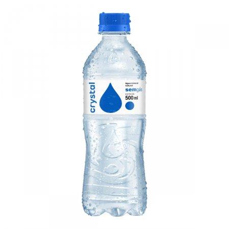 Água Mineral Natural Crystal sem Gás com 500ml