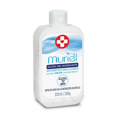 Álcool Gel Higienizante Muriel 300ml