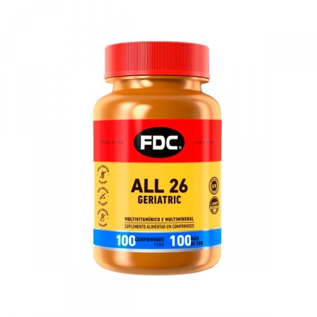 All 26 Geriatric FDC com 100 Comprimidos