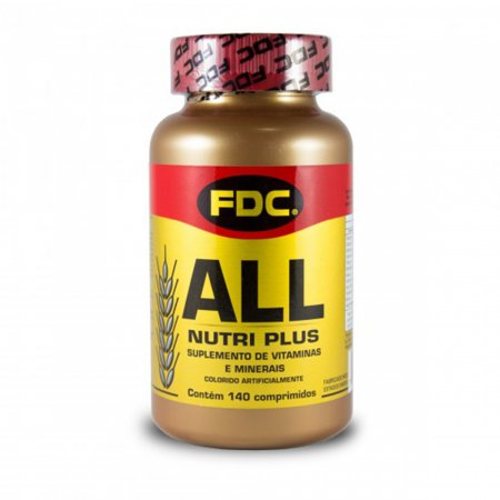 All Nutri Plus com 140 Comprimidos