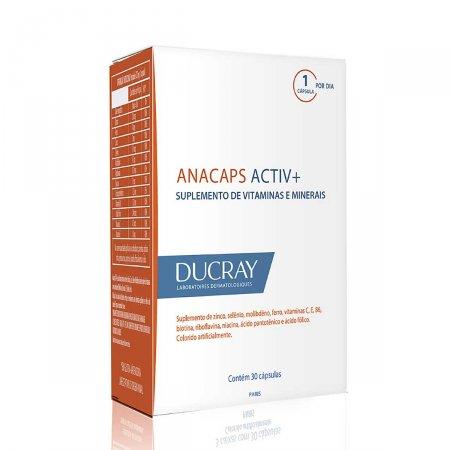 Suplemento Vitamínico-Mineral Anacaps Activ+ com 30 cápsulas
