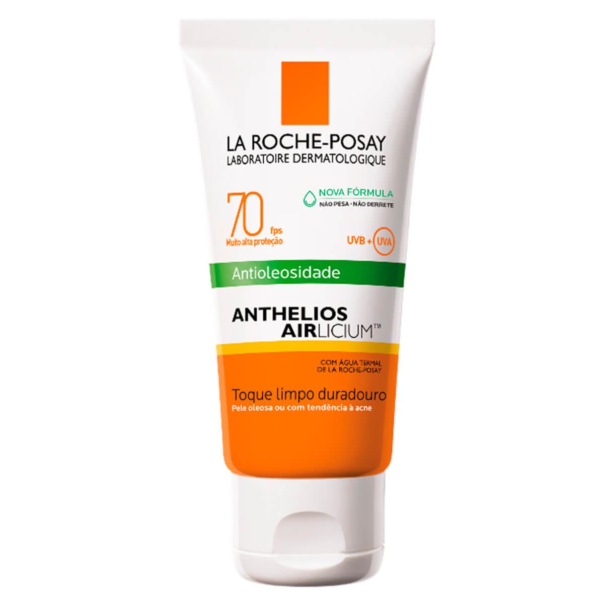 Protetor Solar Anthelios Airlicium Antioleosidade FPS70 50G La Roche-Posay 50g