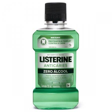 Enxaguante Antisséptico Bucal Listerine Anticáries Zero Álcool com 250ml