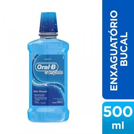 Antisséptico Bucal Oral-B Complete Menta 500ml