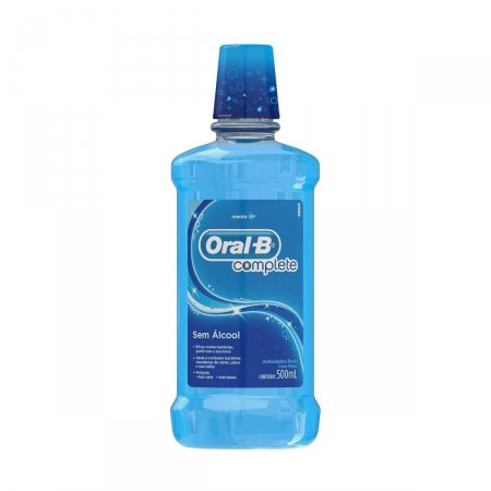 Antisséptico Bucal Oral-B Complete Sabor Menta