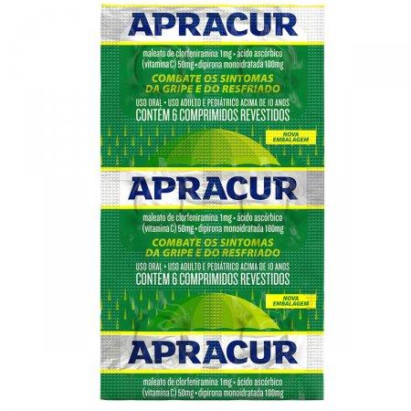 Apracur 6 Comprimidos