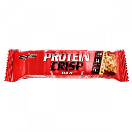 Barra de Proteína Protein Crisp sabor Trufa de Maracujá com 45g