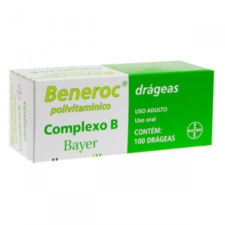 Beneroc Complexo B com 100 Drágeas  