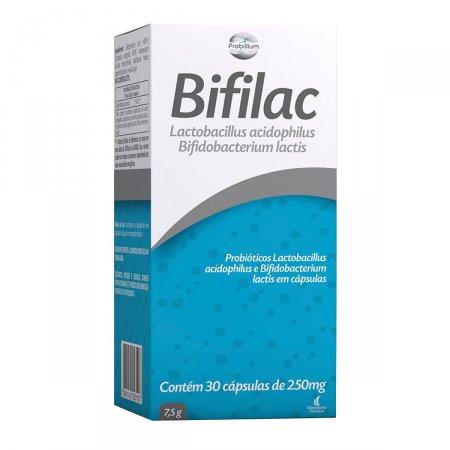 Bifilac 250mg com 30 cápsulas