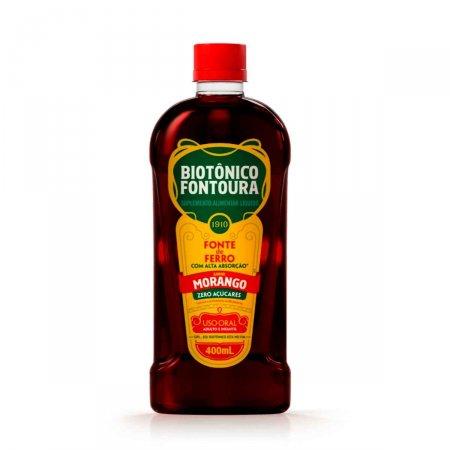 Biotônico Fontoura Morango com 400ml