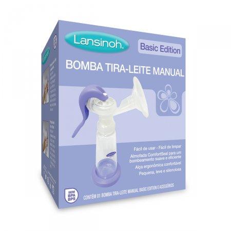 Bomba Tira-Leite Lansinoh Manual Basic Edition