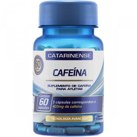 Cafeína 210mg 60 Cápsulas Catarinense