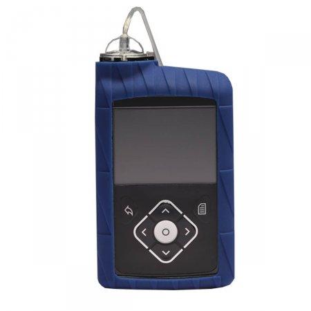 Capa de Silicone Azul para Bomba de Insulina Minimed ACC-821