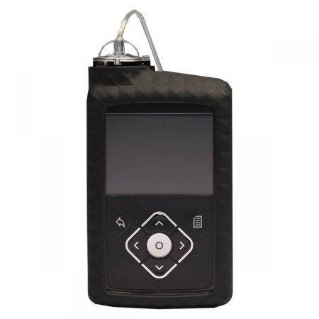 Capa de Silicone Preta para Bomba de Insulina Minimed ACC-822