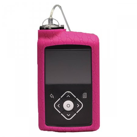 Capa de Silicone Rosa para Bomba de Insulina Minimed ACC-821