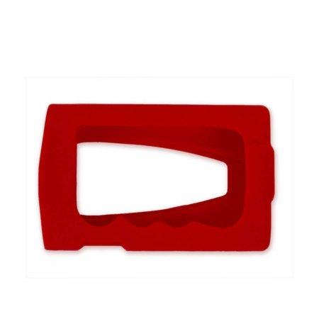 Capa de Silicone Vermelha para Bomba de Insulina Medtronic Paradigm 715,722 e Veo ACC