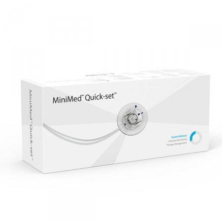 Cateter Quick-Set Medtronic 6mm Cânula 110cm Tubo MMT-398