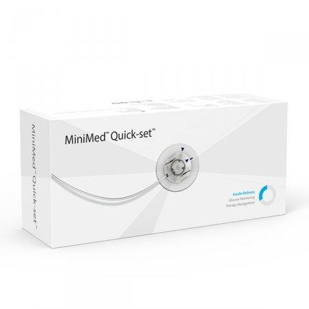 Cateter Quick-Set Medtronic 9mm Cânula 60cm Tubo MMT-397