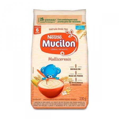Cereal Infantil Mucilon Multicereais com 230g