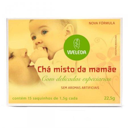 Chá Weleda Misto da Mamãe com Especiarias 15 Sachês de 1,5g Cada