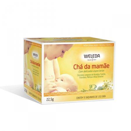 Chá Misto da Mamãe Weleda com 15 saquinhos