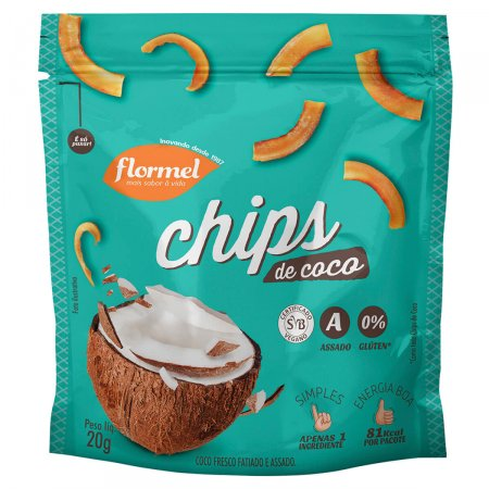 Chips Flormel Coco 20g
