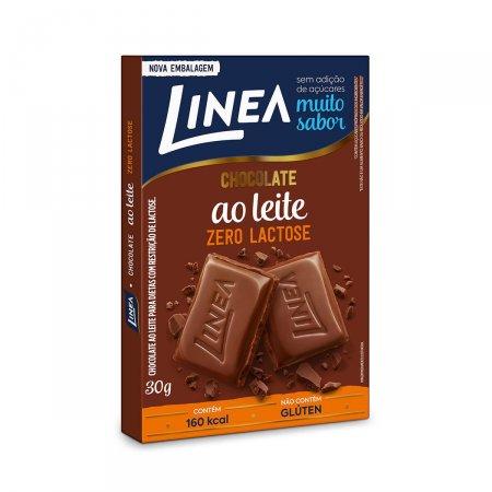 Chocolate ao Leite Linea Zero Lactose com 30g