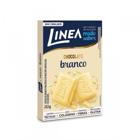 Chocolate Branco Linea Zero Açúcar com 30g