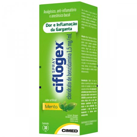 Ciflogex Colutório Spray Menta 30ml