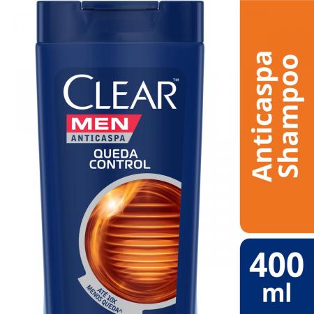 Shampoo Anticaspa Clear Men Queda Control